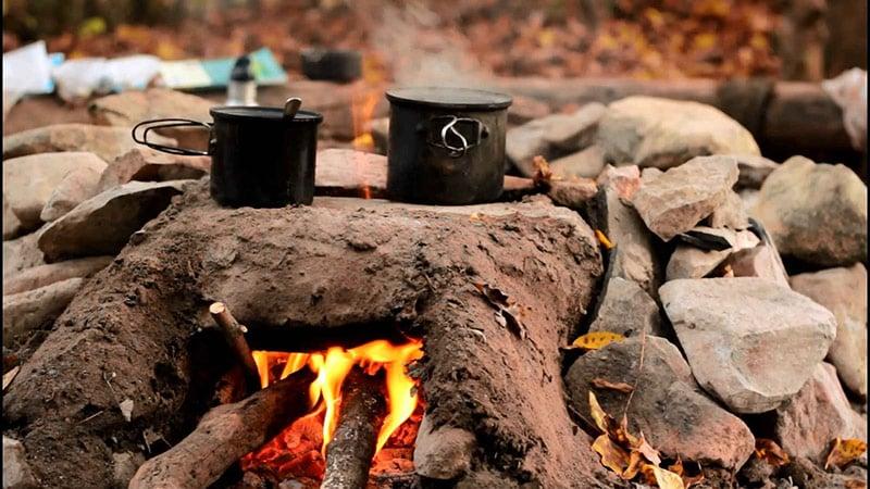 غذا پختن در دل طبیعت