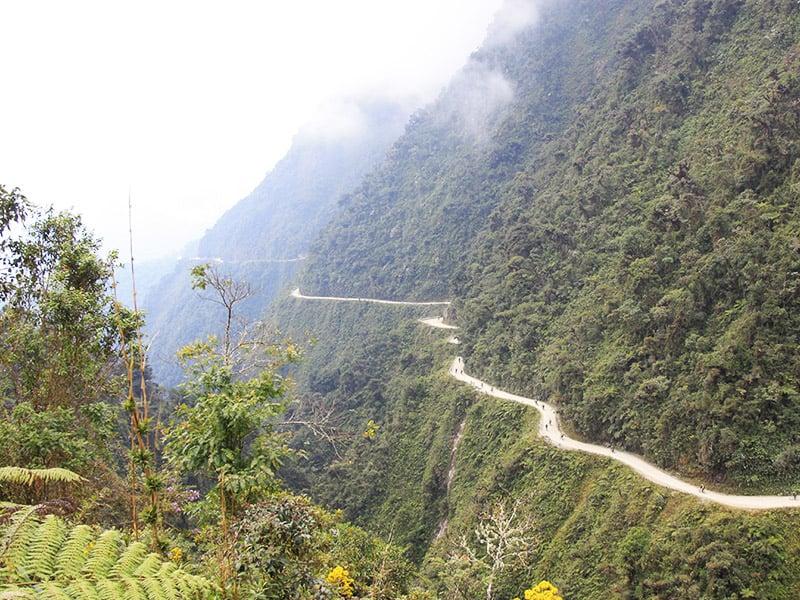 جاده مرگ در بولیوی