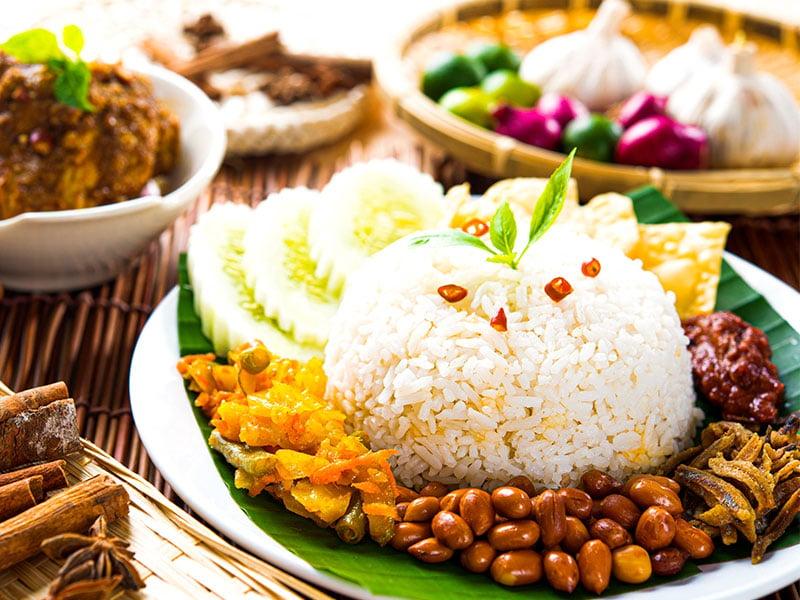 غذای محلی در مالزی