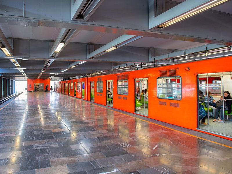 خطوط متروی مکزیکو سیتی