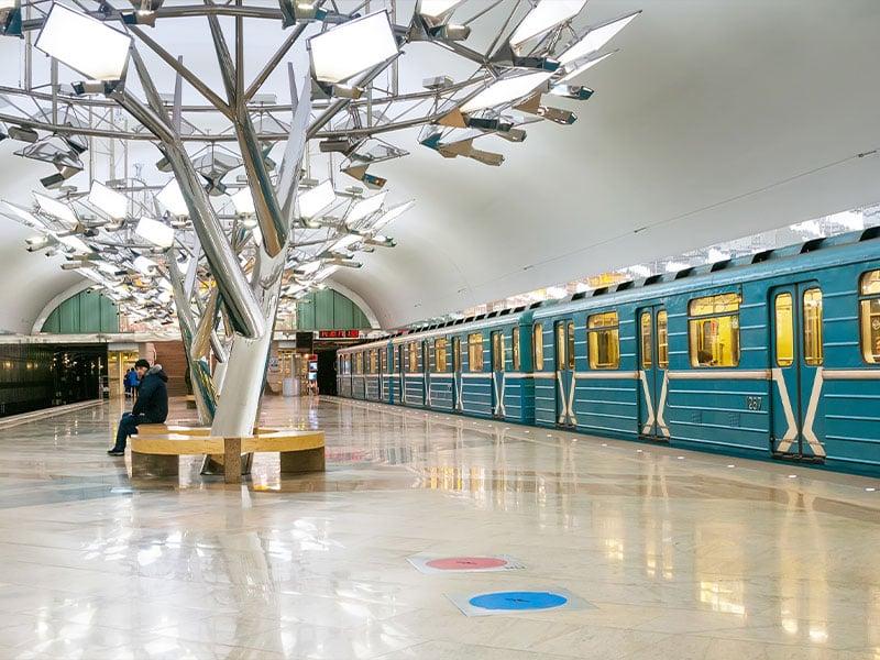متروی مسکو روسیه