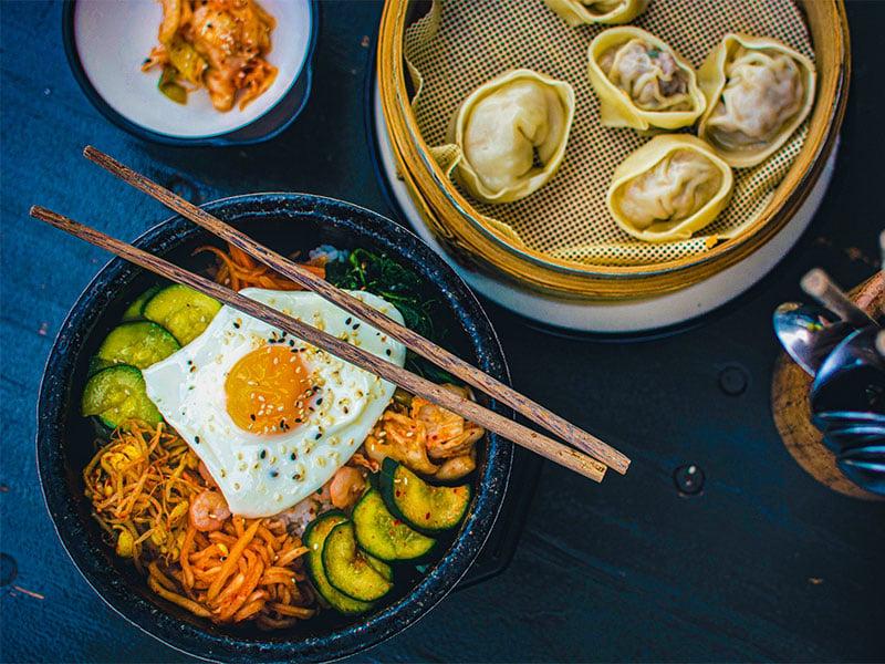 بیبیم-بپ غذای کره ای