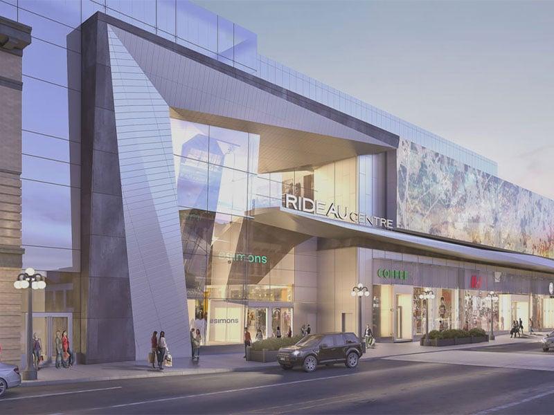مرکز خرید ریدو-سی-اف در کانادا