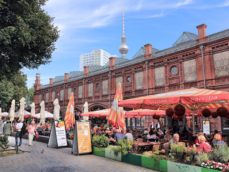 غذا در برلین
