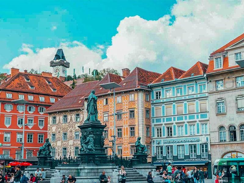 شهر گراتس اتریش