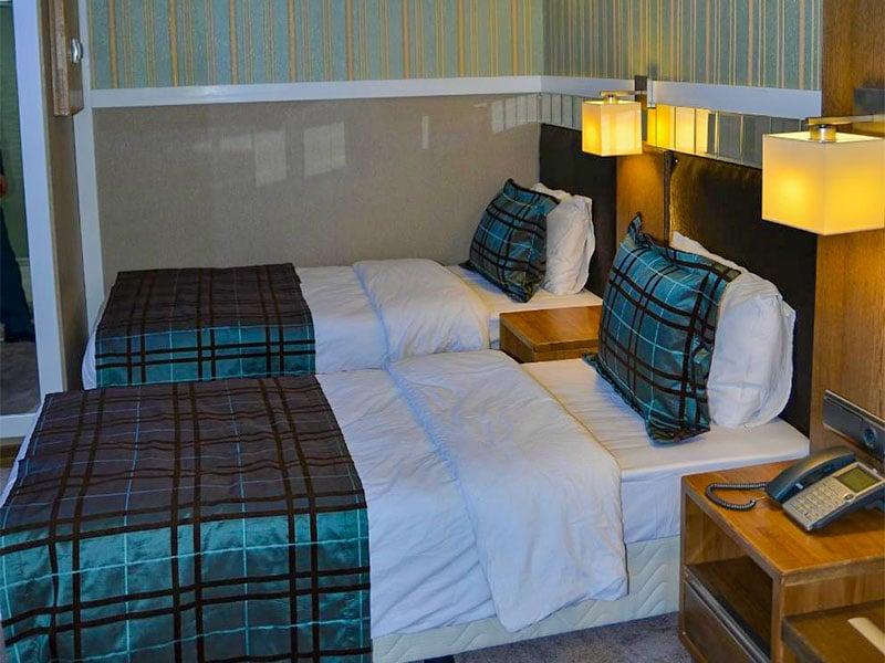اتاق های گراند هتل وان