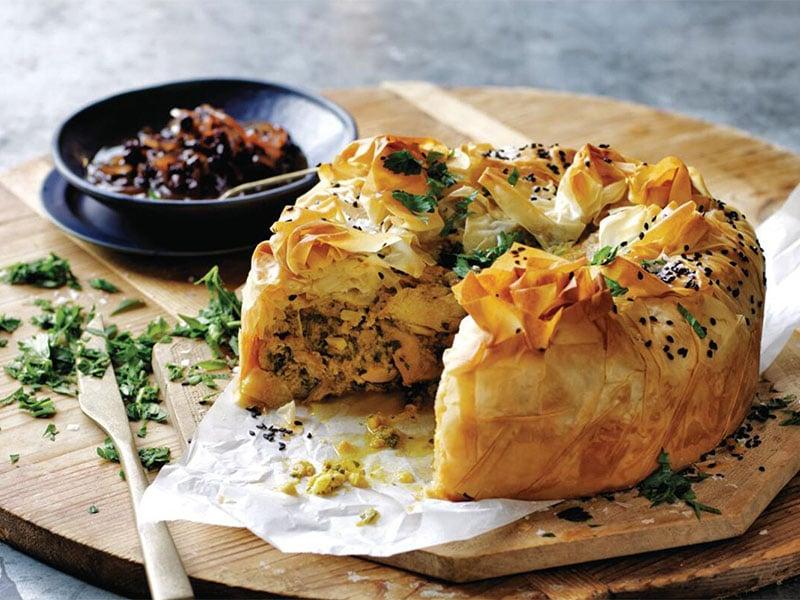 پاستیلا-Bstilla غذاهای سنتی مراکش