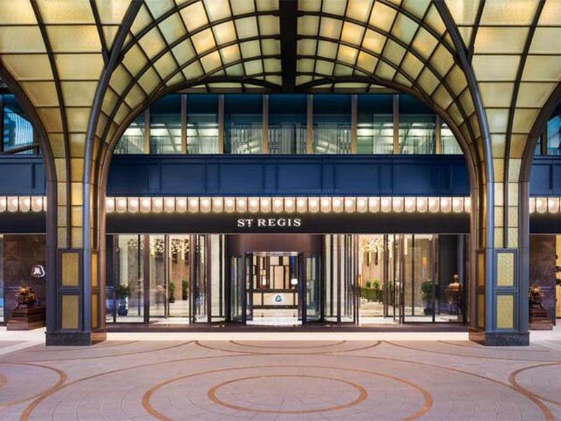 هتل سنت رجیس شانگهای