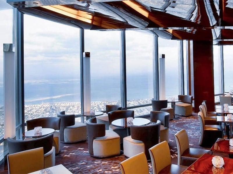 رستوران اتمسفر در برج خلیفه