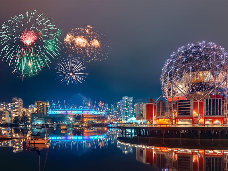 جشن نور در ونکوور