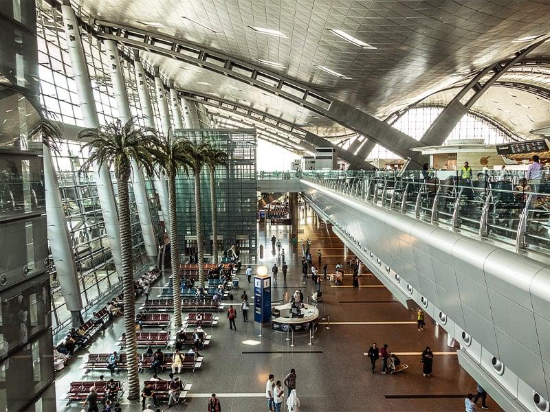 فرودگاه قطر