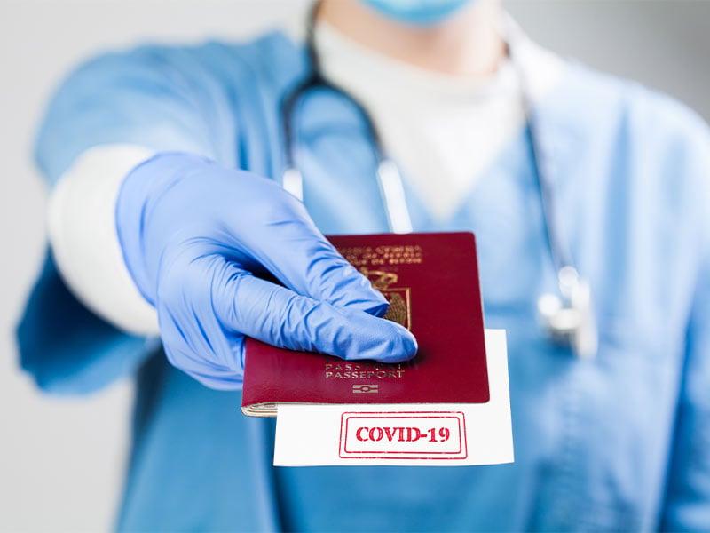 گذرنامه مسافرتی کووید 19