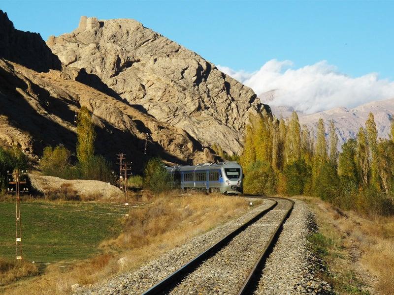 مسیر راه آهن در ایران