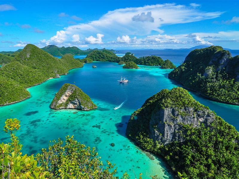 جزایر راجا آمپات اندونزی و بهترین زمان بازدید