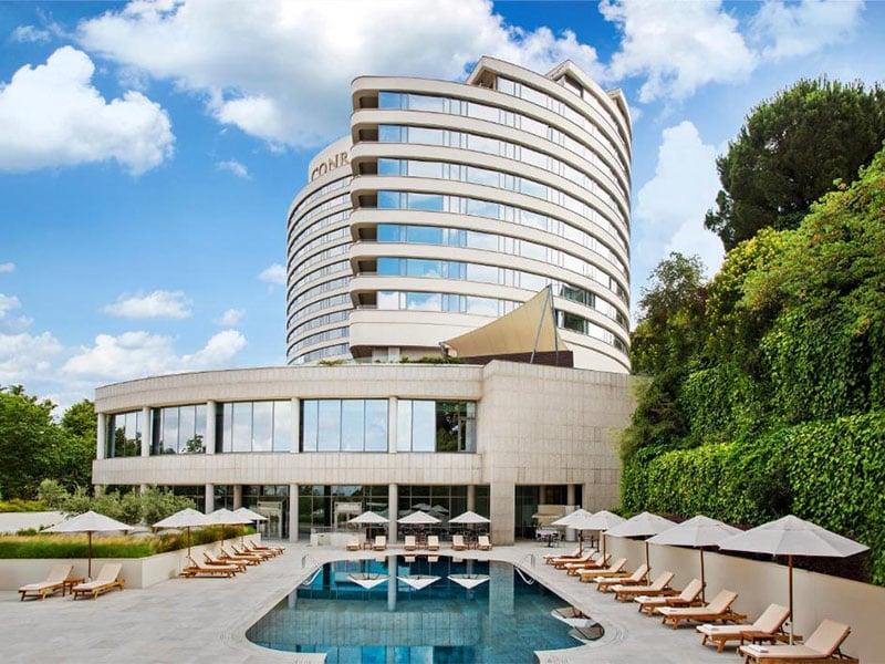هتل های استخردار استانبول   هتل کنراد بسفروس